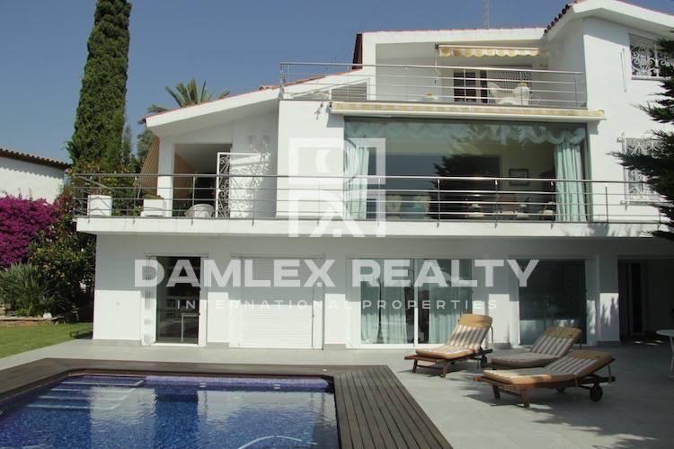 Villa con vistas al mar en Sitges