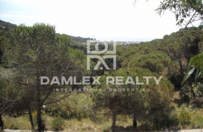 Building plot with sea views. Costa Maresme