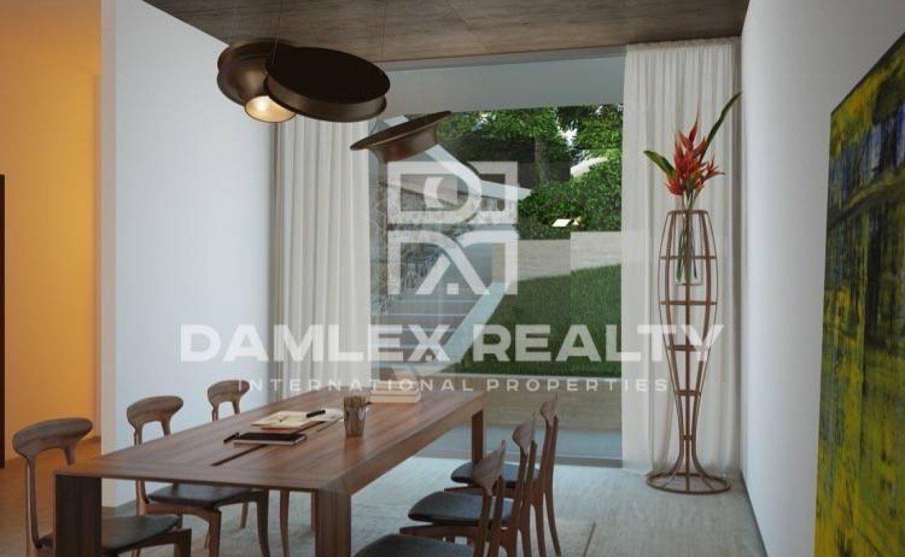 Villa de lujo moderna en primera línea de mar en Cala Canyelles