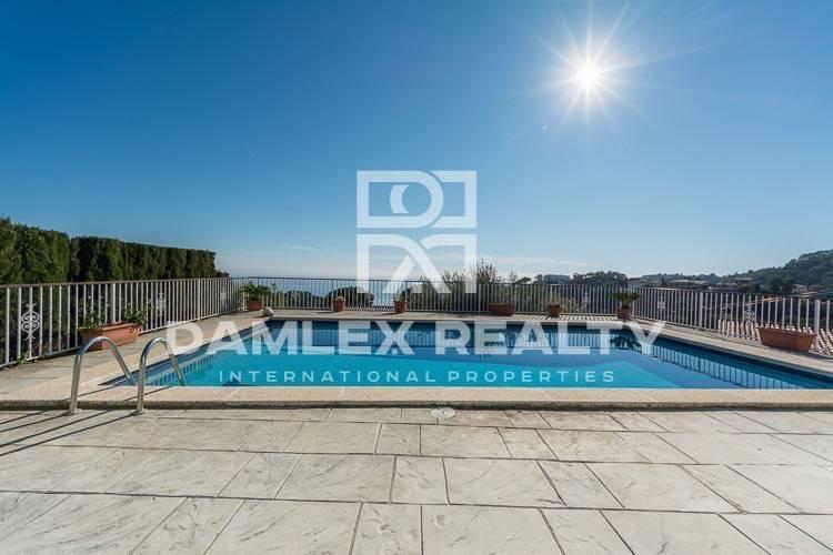 Villa con vistas panorámicas al mar. Tossa de Mar. Costa Brava