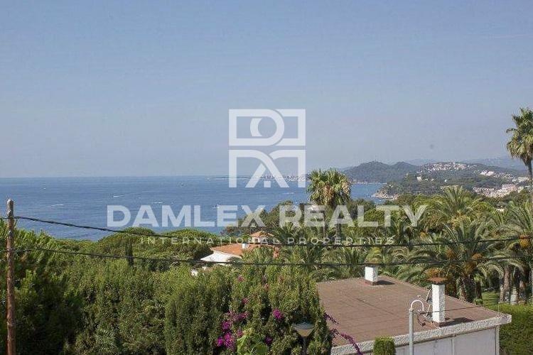Villa con vistas al mar en una de las mejores urbanizaciones de la Costa Brava
