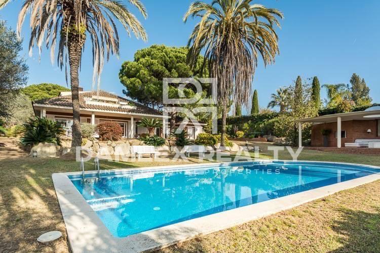 Villa de lujo con impresionantes vistas al mar Sant Andreu de Llavaneres
