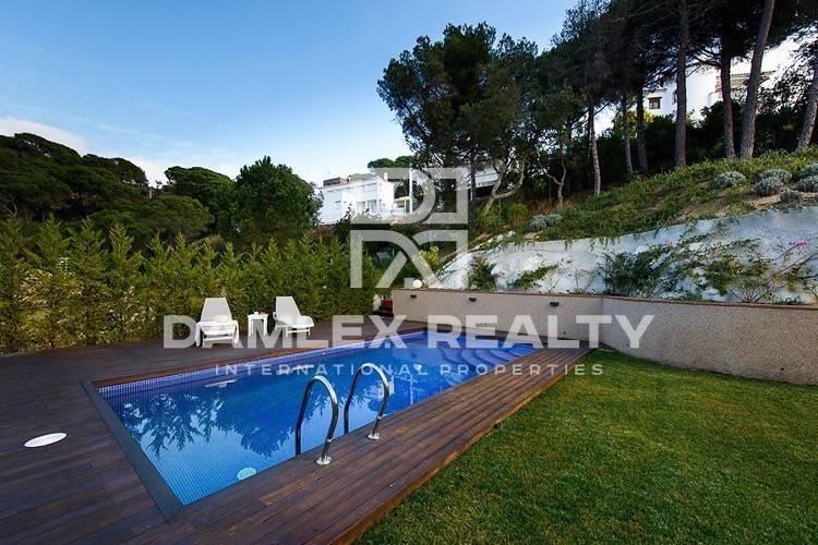 Villa con vistas al mar en la Costa Brava. Lloret de Mar