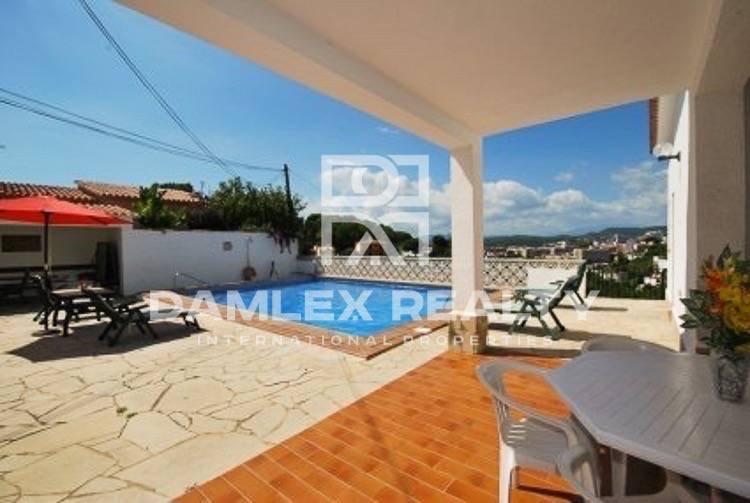 Villa en la urbanización de Lloret de Mar. Costa Brava