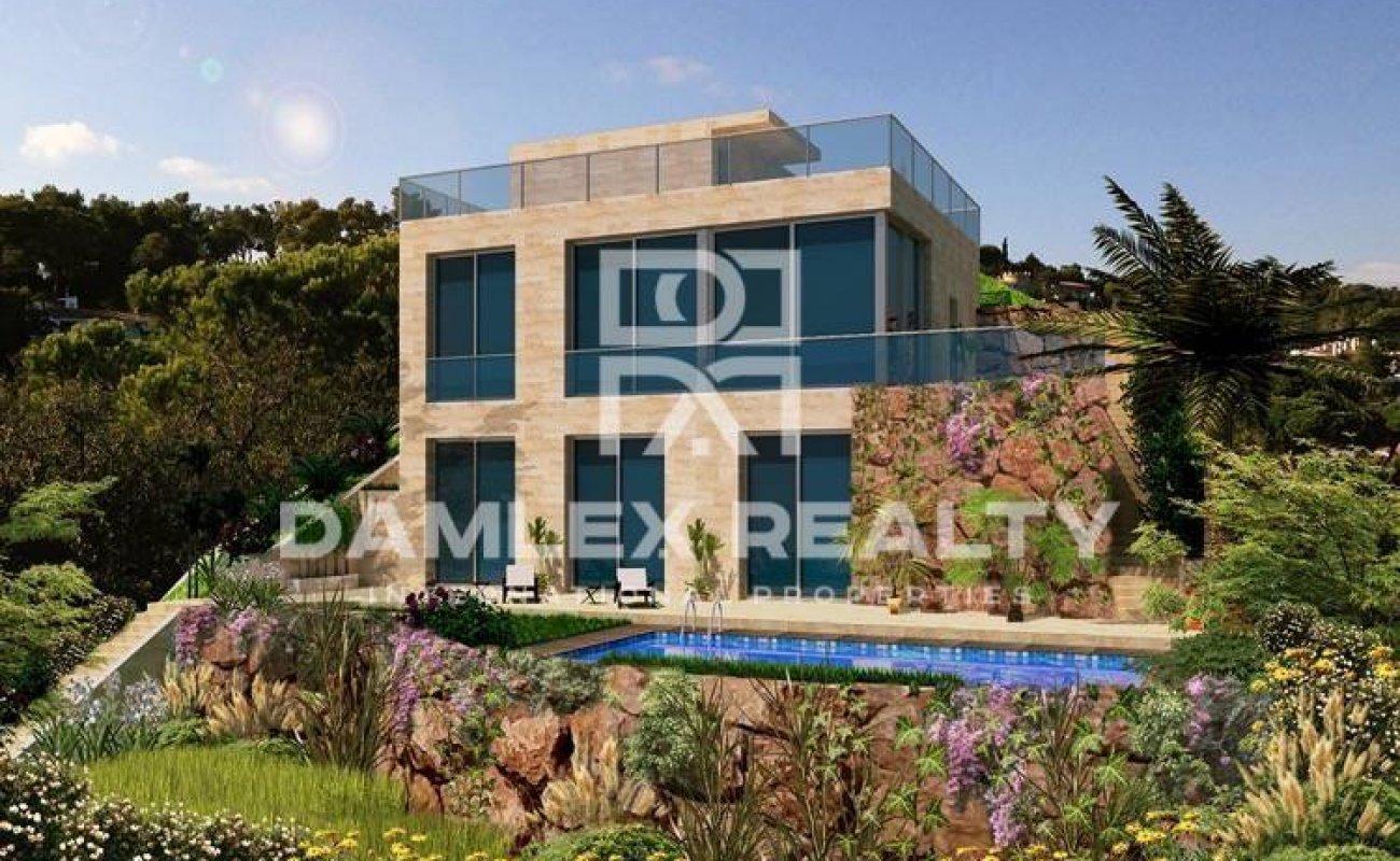 Moderna villa nueva en Lloret de Mar, Costa Brava