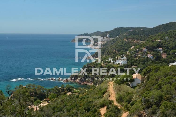 Nueva villa en construcción con vistas al mar. Tossa de Mar