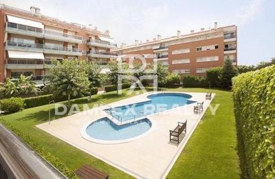 Apartamento con su jardin propio en Sitges