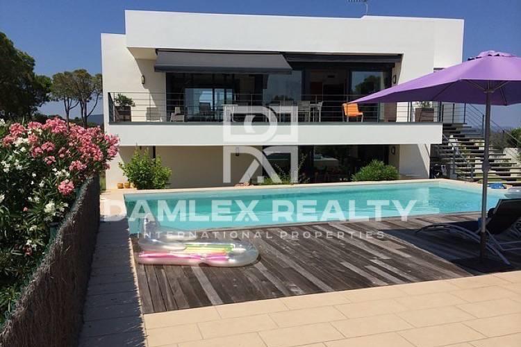 Villa con vistas al mar en Calonge. Costa Brava