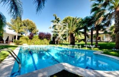 Villa de lujo en una de las zonas residenciales de Barcelona