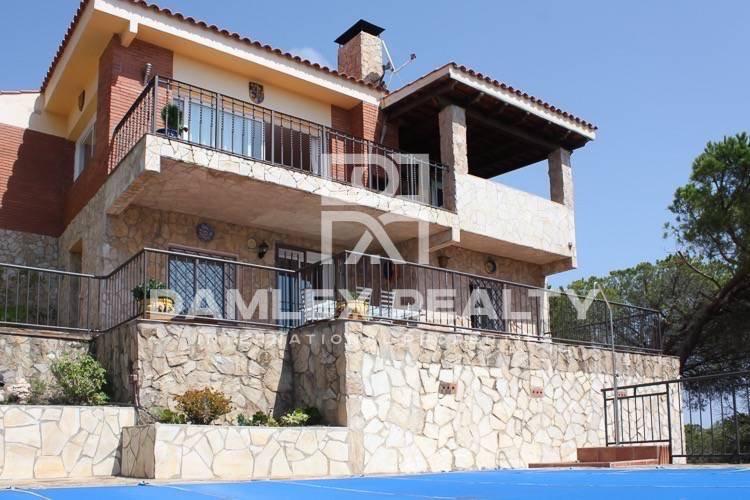 Casa con vistas al mar en Lloret de Mar.