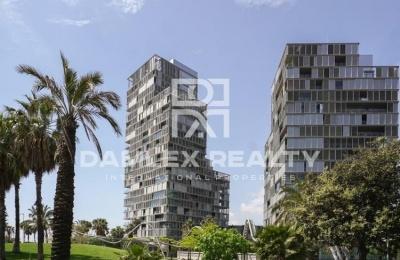 Apartamento con vista al mar en Barcelona