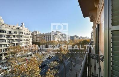 Apartamento en el centro de Barcelona con una impresionante vista