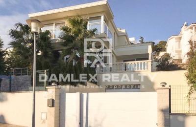 Villa moderna con vistas al mar en Playa de Aro