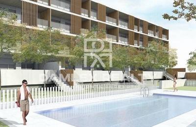 Nueva edificio de apartamentos en Sitges