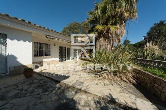 La casa en la zona residencial de Lloret de Mar