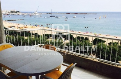 Apartamento frente al mar en Palamos