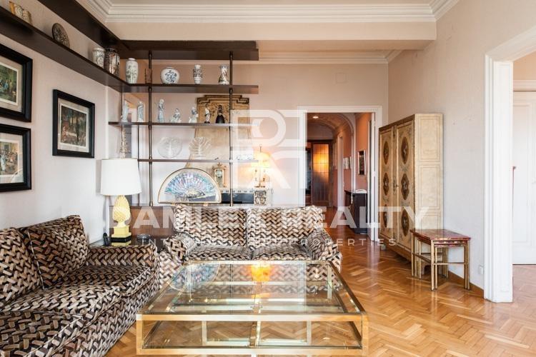 Apartamento en el Paseo de Gracia en el centro de Barcelona