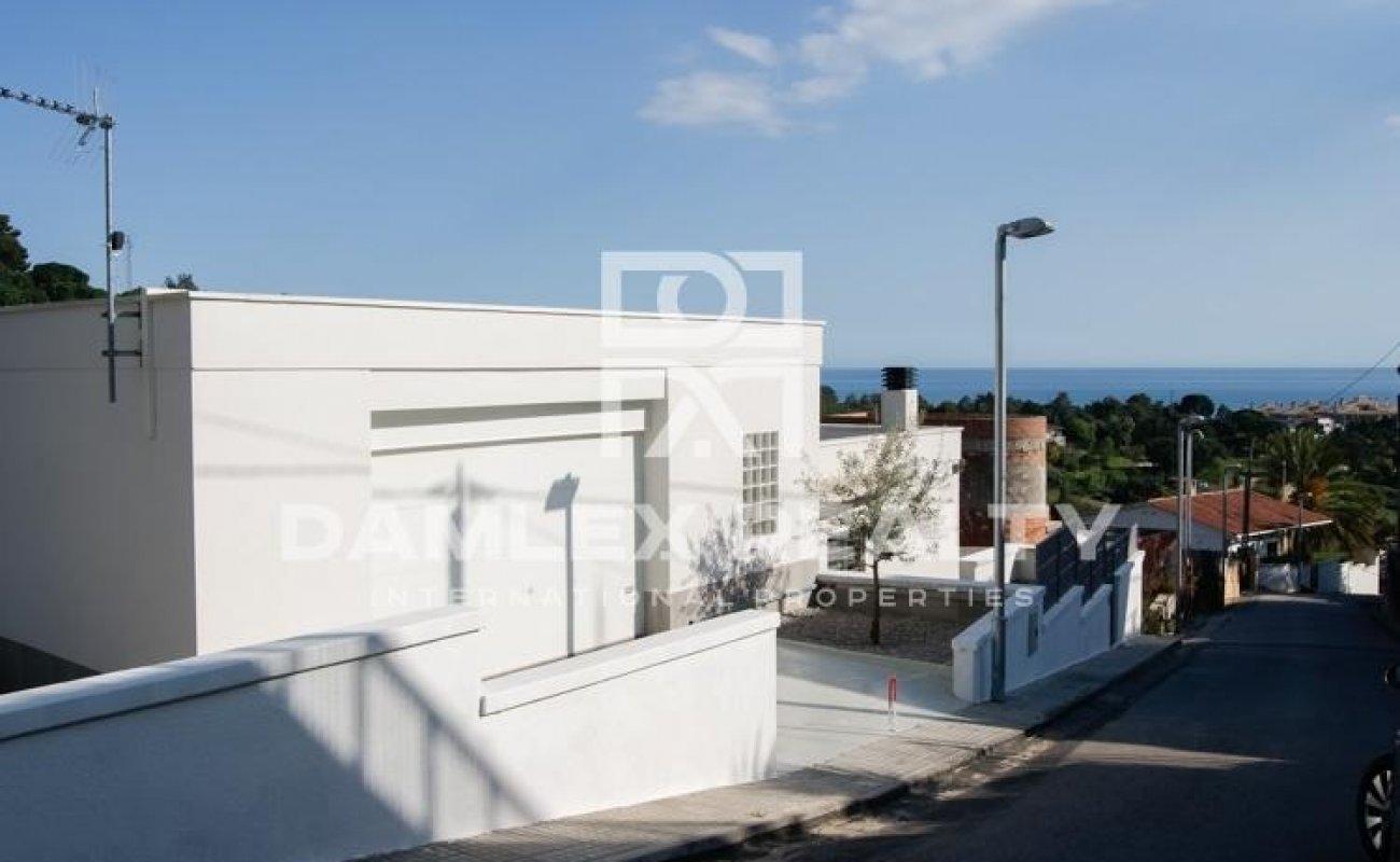 Casa con vistas al mar en Lloret de Mar