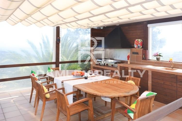 Villa con impresionantes vistas al mar en Lloret de Mar