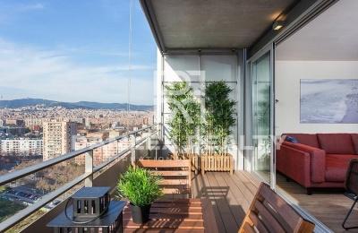 Acogedor apartamento cerca del parque en Diagonal Mar.