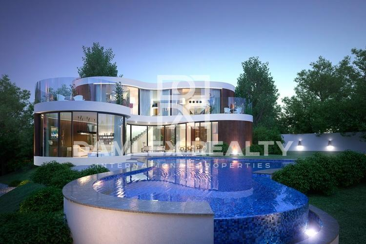 Villa moderna en Vilassar de Dalt