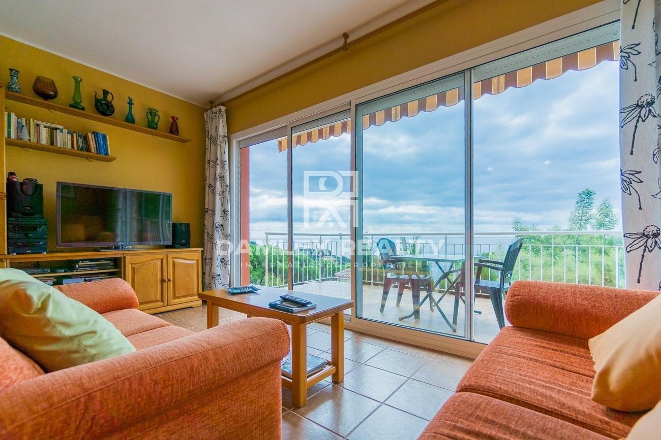 Villa con vistas al mar en la ciudad de Tossa de Mar