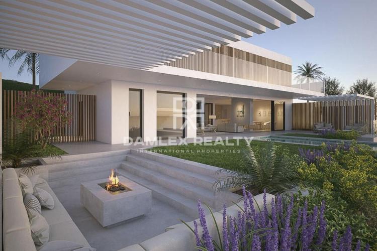 Proyecto de 3 villas modernas con vistas al mar, Costa del Sol