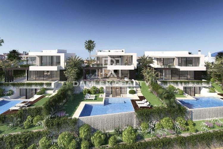 10 villas modernas en Estepona