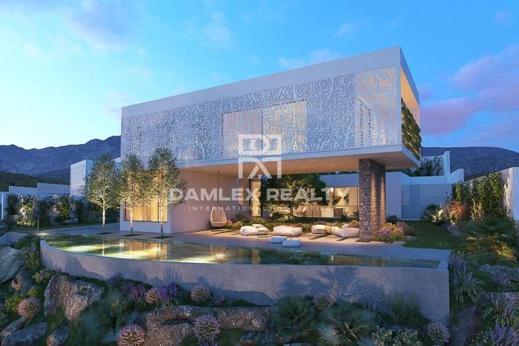 Villa en construcción en la Costa del Sol