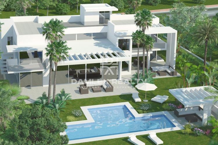 Villa moderna cerca de la playa, Guadalmina Baja