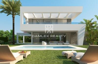 Proyecto de villas modernas en la Costa del Sol.