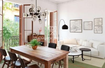 Maravilloso apartamento en un edificio histórico en Barcelona