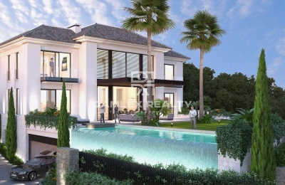 Proyecto de una villa de lujo con vistas al mar en la Costa del Sol