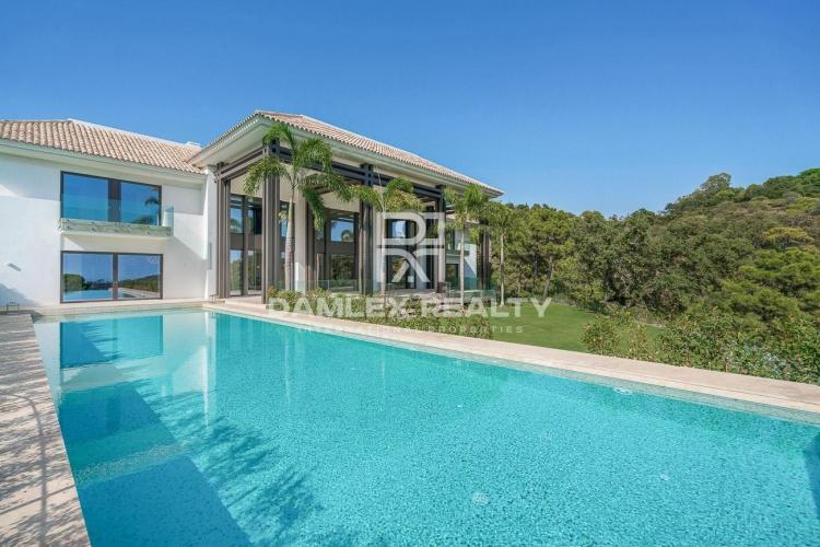 Villa en la urbanización de élite de La Zagaleta, Benahavis