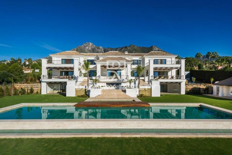 Villa de lujo con vistas al mar en la zona de la Milla de Oro