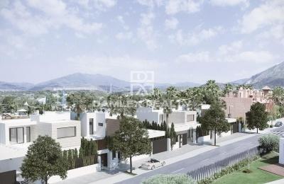 Un proyecto de siete villas en Marbella.