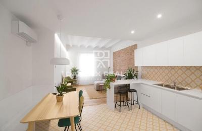 Apartamento con diseño moderno en la zona de Gracia