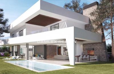 Proyecto de nueva villa con vistas al mar en la zona de Elviria, Marbella