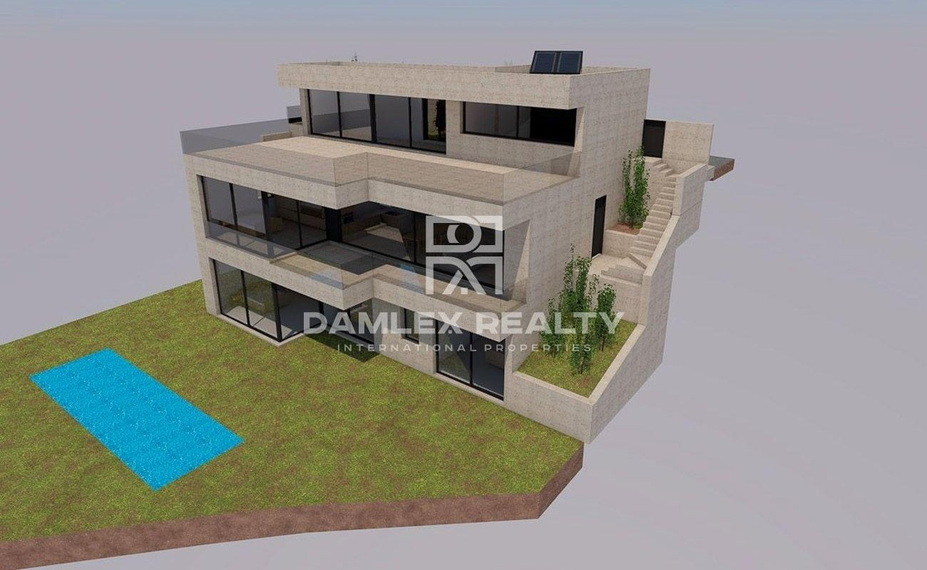 Proyecto de una villa en Lloret de Mar.