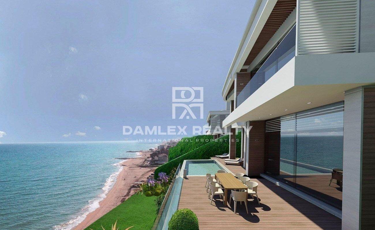 Villa moderna con impresionantes vistas al mar
