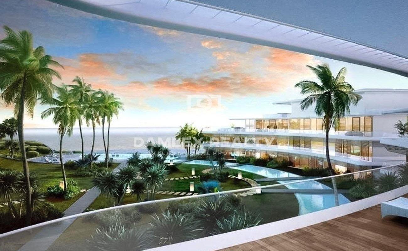 Nuevos apartamentos en un complejo exclusivo en primera línea de mar en Estepona