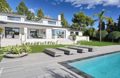 Hermosa villa a dos kilómetros de la playa en Marbella