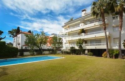 Apartamento en la segunda línea del mar en Sitges.