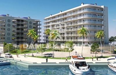 Nuevos apartamentos en la Costa Brava, a 500 metros de la playa.
