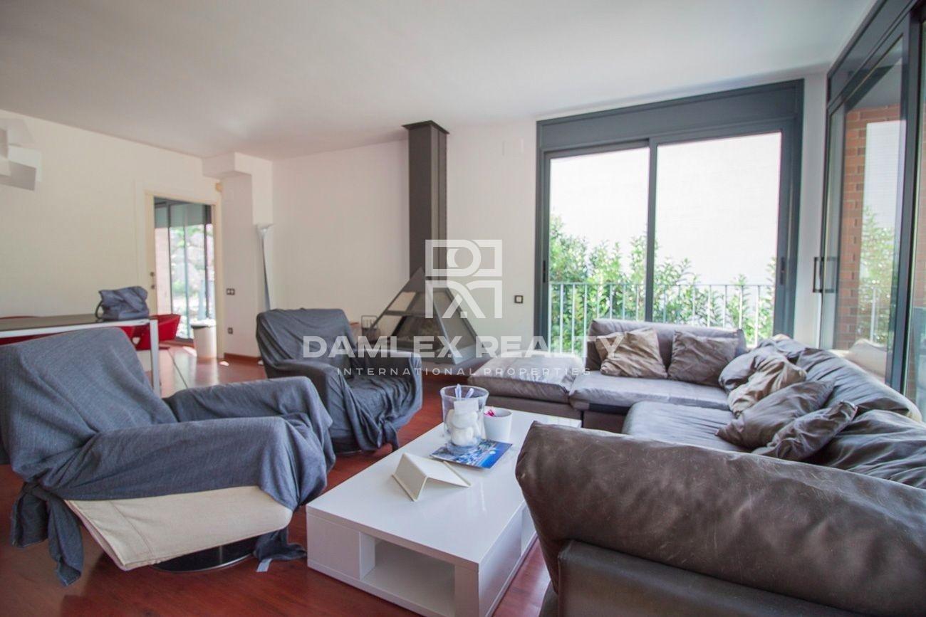 Villa con vistas al mar en la urbanización de Sitges