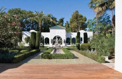 Villa en la prestigiosa zona de la zona oeste de Marbella