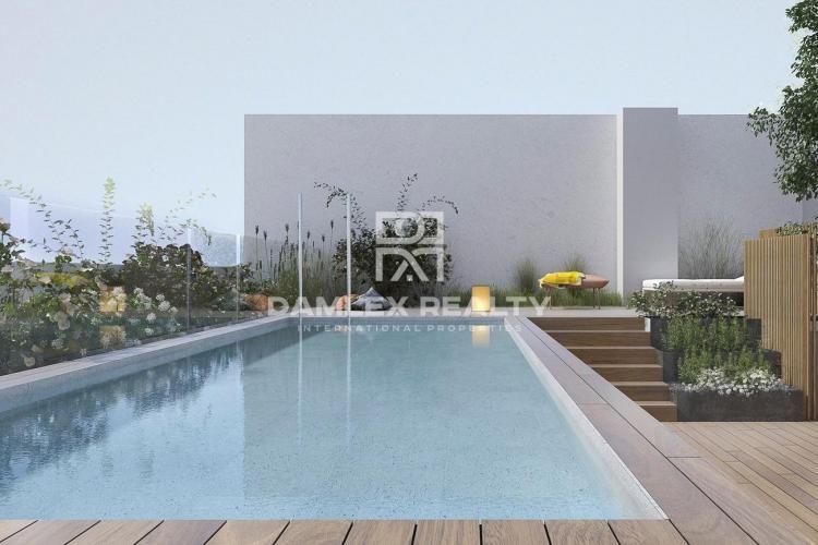 Nuevo edificio residencial en Les Corts en Barcelona
