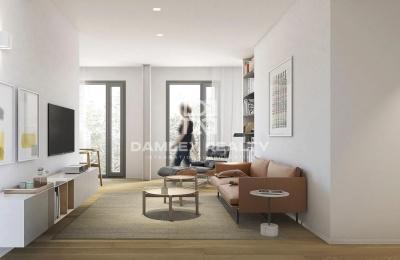 Apartamento con terraza en un nuevo edificio residencial en Barcelona