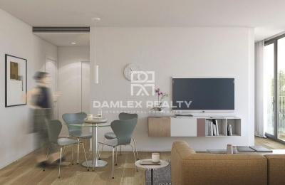Apartamento dúplex en un nuevo edificio residencial en Barcelona