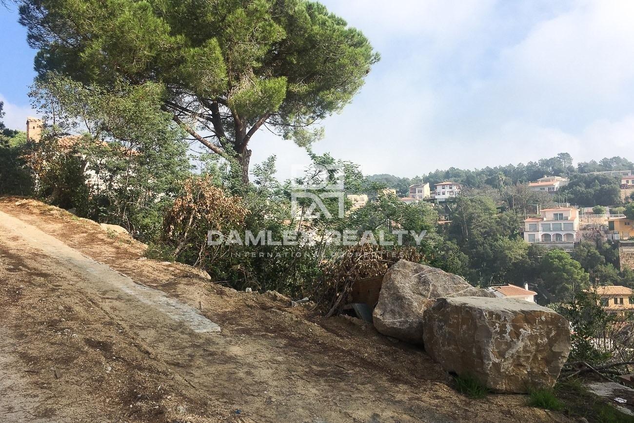 Terreno para construir una villa en la Costa Brava